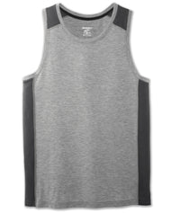 Brooks Men's Distance Tank - Heather Ash/Asphalt (211214024)