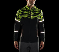 Brooks Men's Nightlife Jacket - Black/Nightlife Blur (211247054)