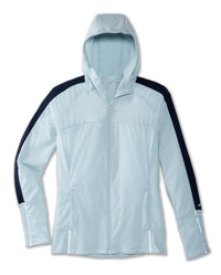 Brooks Women's Canopy Jacket - Glacier/Navy (221376482)