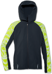 Brooks Women's Nightlife Jacket - Asphalt/Nightwave (221386056)