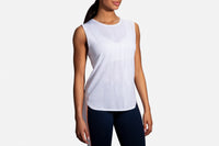 Brooks Women's Spirit Tank (221413) White/Nectar