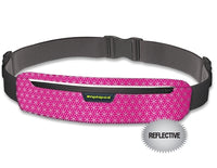 Amphipod AirFlow MicroStretch Plus Luxe Belt - Cherry/Reflective (2340-7)