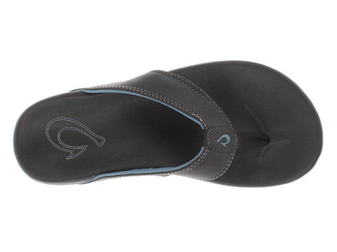 OluKai Men's Kikaha - Black/Pale Ocean (10219-402W)