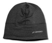 Brooks Notch Thermal Beanie - Heather Black (280392038)