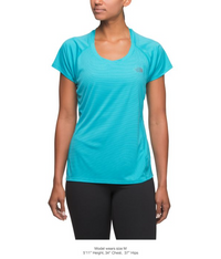 The North Face Women's Ambition Short Sleeve Tee - Bluebird (NF0A3F174D3)