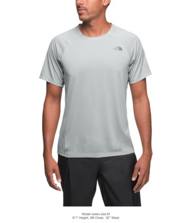 2576582bc The North Face Men's Flight Better Than Naked Short-Sleeve Tee - High Rise  Grey (NF0A3F1MA0M)
