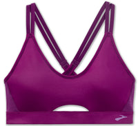 Brooks Women's Fastforward Free Sports Bra - Violet (300636544)