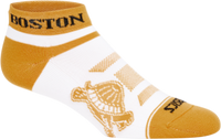Asics Boston T&H No Show Sock - Brilliant White/Amber Gold (3013A471.100)
