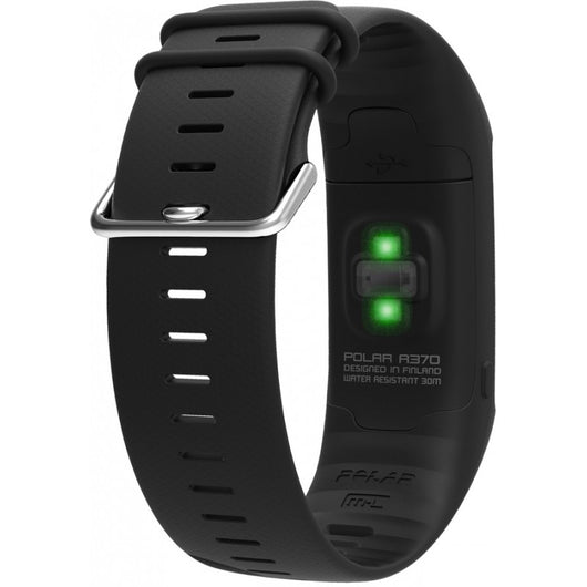 Polar A370 Fitness Tracker With Wrist-Based Heart Rate M/L - White (90064906)