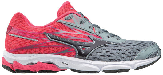 Mizuno Women's Wave Catalyst 2 - Monument/Magnet (410880.9B9E)