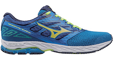 Mizuno Men's Wave Shadow - Directoire Blue/Safety Yellow/Blue Depths (410940.5N30)