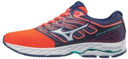 Mizuno Women's Wave Shadow - Fiery Coral/White (410941.1Z00)