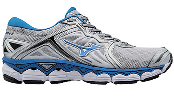 Mizuno Men's Wave Sky - Silver/Directoire Blue/Black (410942.735N)