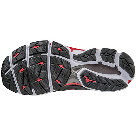 Mizuno Men's Wave Sky - Iron Gate/Red/Black (410942.9A1F)
