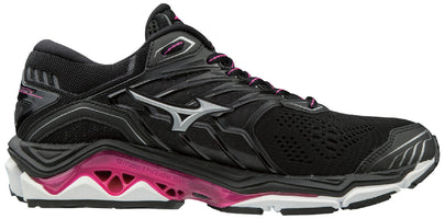 Mizuno Women's Wave Horizon 2 - Black/Athena (410982.901D)