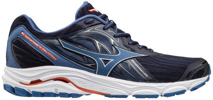 Mizuno Men's Wave Inspire 14 - Evening Blue/Cherry Tomato (410983.5V1T)