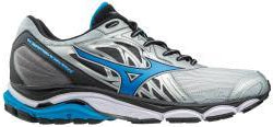 Mizuno Men's Wave Inspire 14 - Silver/Director Blue (410983.735N)