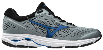 Mizuno Men's Wave Rider 22 Wide (2E) - Monument/Black (411001.9B90)