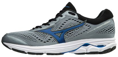 Mizuno Men's Wave Rider 22 - Monument/Black (410991.9B90)