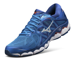 Mizuno Men's Wave Sky 2 - Directoire Blue/Cherry Tomato (410995.5N1T)
