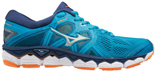 Mizuno Women's Wave Sky 2 - Hawaiian Ocean/Bird Of Paradise (410996.5622)