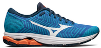 Mizuno Men's Waveknit R2 - Nautical Blue/Red Orange (411002.NB1W)