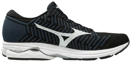 Mizuno Women's Waveknit R2 - Black/Ombre Blue (411003.90RE)