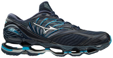 Mizuno Men's Wave Prophecy 8 - Blue Wing Tail/Silver (411054.BW73) Running Shoe High Cushion