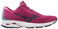 Mizuno Women's Rider Waveknit 3 - Boysenberry/Medieval Blue (411122.6AME) Lateral Side