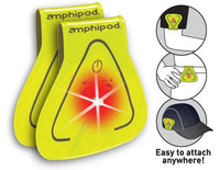 Amphipod Vizlet LED 2 pk - Yellow Triangle (422-1)
