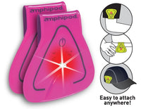 Amphipod Vizlet LED Triangle 2-Pack - Pink Triangle (422-2)