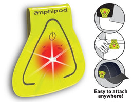 Amphipod Vizlet LED - Yellow Triangle (4220-1)
