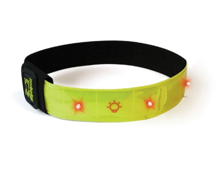 Amphipod Might-Light Flashing Reflective Arm Band - Green (496)