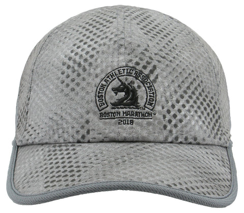 Adidas Men's Boston Marathon® 2018 B.A.A Pro Cap - Grey/Black (5144983)