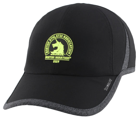 e30434a1cc0 Adidas Women s Boston Marathon® 2019 B.A.A. Superlite Cap - Black Dark  Heather Grey
