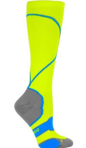 Saucony Unisex Performance Compression Socks - Citron (S17001-723)