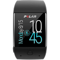 Polar M600 GPS Smartwatch Powered by Wear OS by Google - Black (90063087)