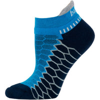 Balega Silver Performance No Show Running Socks - Bright Turquoise/Ink (8073-6672)
