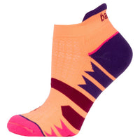 Balega Women's Enduro V-Tech No Show Running Socks - Purple/Peach (7469-6175)