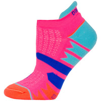 Balega Women's Enduro V-Tech No Show Running Socks - Watermelon/Orange (7469-0833)