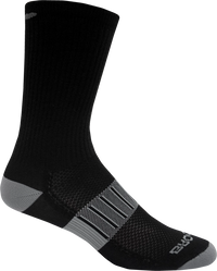 Brooks Ghost Midweight Crew 2-Pack Running Socks - Black/Oxford (742365.036)