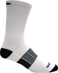 Brooks Ghost Midweight Crew 2-Pack Running Socks - White/Black (742365.106)