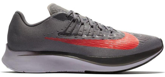 04a91285b4a9 Nike Men s Zoom Fly - Gunsmoke Thunder Grey Provence Purple Bright Crimson (