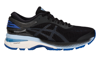 Asics Women's GEL-Kayano 25 - Black/ASICS Blue (1012A026.001)