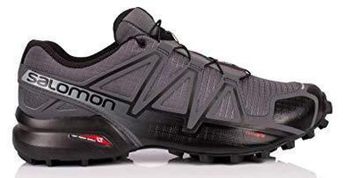 Salomon Men's Speedcross 4 Wide (2E) - Dark Cloud/Black/Pearly Grey (L4025990034)