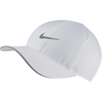 Nike Unisex Featherlight Running Hat - White (AR1998-100)
