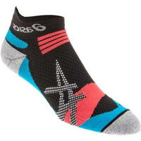 Asics Kayano Single Tab Running Socks - Black/Blue (ZK2017-9055)