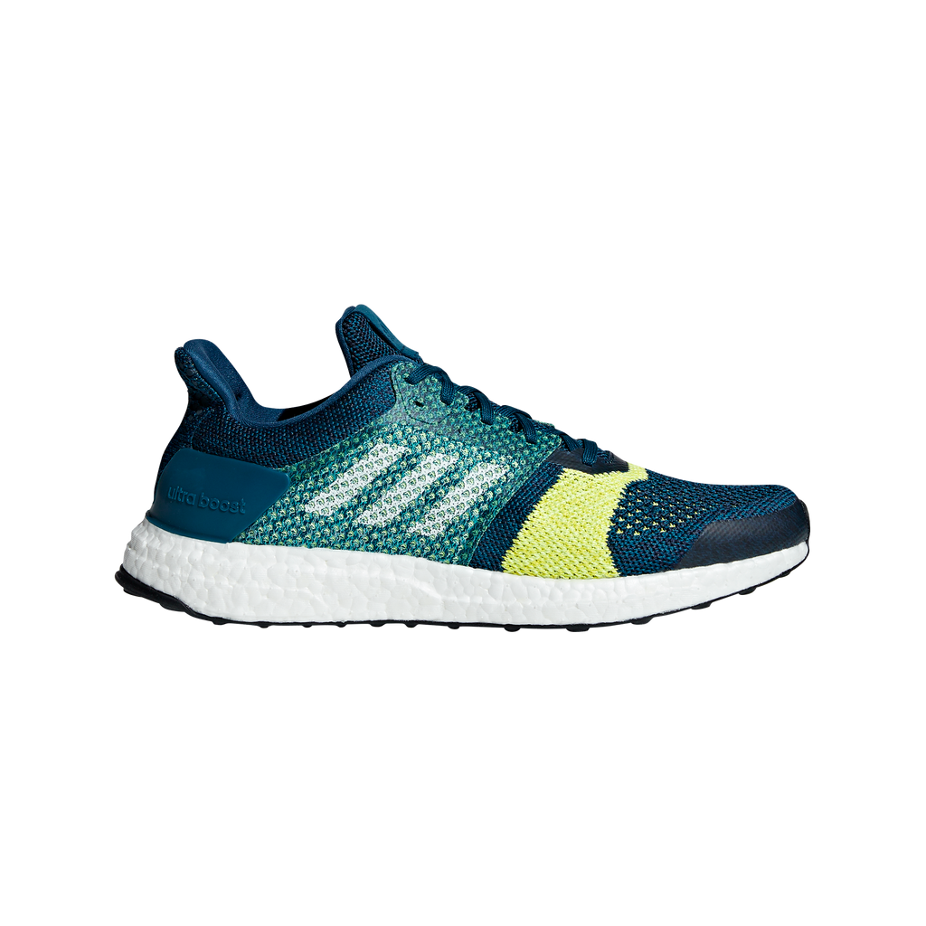 adidas Womens Ultraboost ST Stability Running Shoes Energy AquaFootwear WhiteMystery Petrol