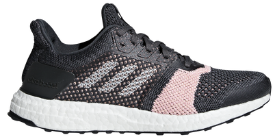 Adidas Women's Ultra Boost ST - Carbon/Cloud White/Grey (B75864)