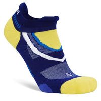 Balega Ultra Glide No Show Running Socks - Royal Blue/Blaze Yellow (8005-6126)